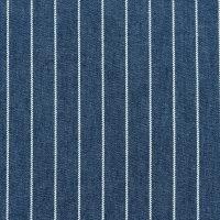 条纹图案棉纺牛仔布面料