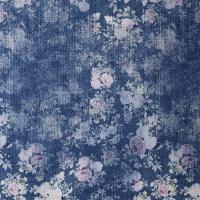 植物图案棉纺面料