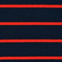 女装条纹图案针织罗纹针织面料