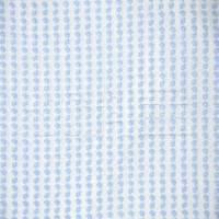 蓝色条纹真丝面料