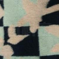 订货 色彩拼贴毛纺华达呢面料