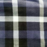 几何图案化纤摇粒绒面料