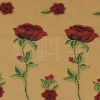 订货 植物图案针织蕾丝面料