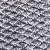 几何图案化纤尼丝纺面料