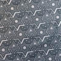 几何图案化纤涤塔夫面料