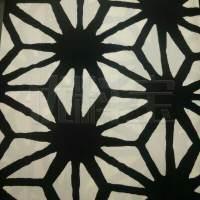 快反 几何图案针织平板布面料