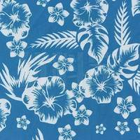 植物图案化纤珊瑚绒面料