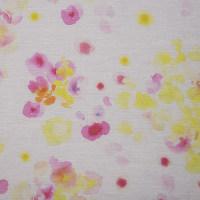 植物图案化纤金光绒面料