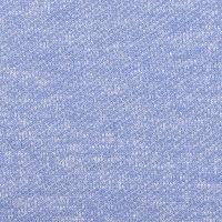 蓝色针织毛圈布面料