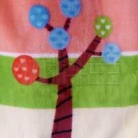 订货 植物图案毛纺法兰绒面料