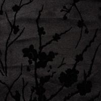 现货 植物图案化纤丝绒面料