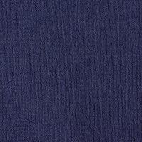 订货 蓝色棉纺泡泡纱面料