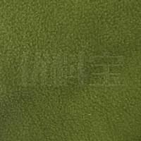 订货 绿色化纤摇粒绒面料