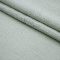 绿色麻纺苎麻布面料