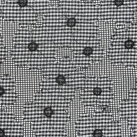 现货 植物图案针织网眼面料【3码起订】