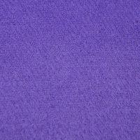 现货 紫色毛纺顺毛呢面料