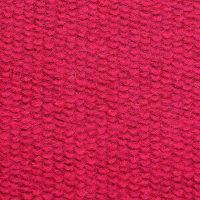 订货 红色毛纺圈圈呢面料