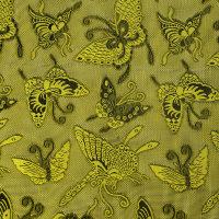 黄色真丝泰丝绸面料