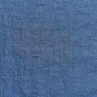 现货 蓝色化纤尼丝纺面料