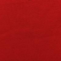 现货红色针织罗马布面料