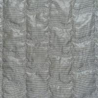 几何图案化纤花瑶面料