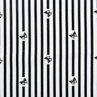 现货 条纹图案棉纺面料