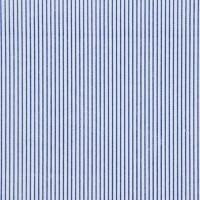 蓝色涤棉印花平纹