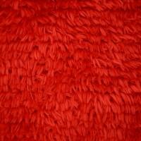 红色舒棉绒
