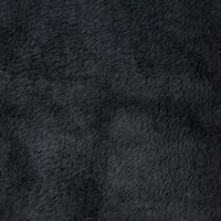 黑色涤纶双面超柔