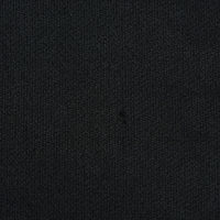 黑色棉纺平绒面料