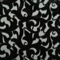 黑色化纤韩国绒面料