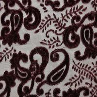 红色化纤韩国绒面料