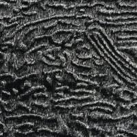 灰色化纤韩国绒面料