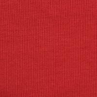 红色针织毛圈布面料