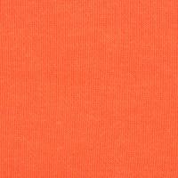 女装橙色针织起绒布面料