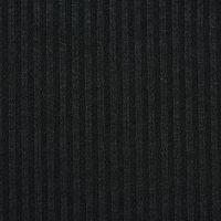 黑色针织粗针面料