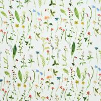 植物图案化纤雪纺面料