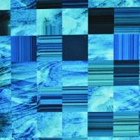 抽象图案棉纺纱卡面料