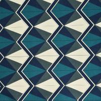 几何图案棉纺纱卡面料
