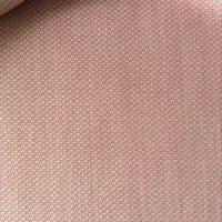 粉色小提花精纺毛纺面料