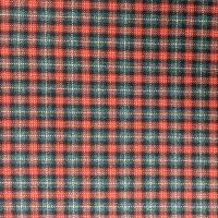 毛条精纺格子羊毛面料布料