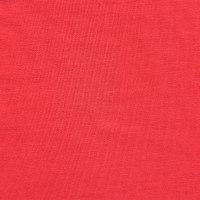 红色针织汗布面料