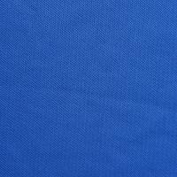 蓝色针织网眼面料