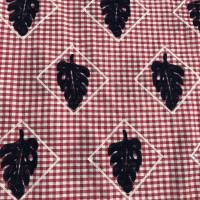 几何图案棉纺巴厘纱面料