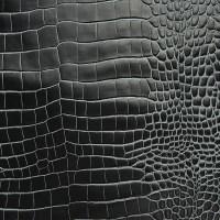 鳄鱼纹二层皮