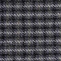 现货 条纹图案毛纺粗花呢面料