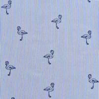 色织条纹印花衬衫面料