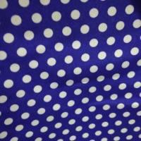 圆点花纹棉纺平绒面料