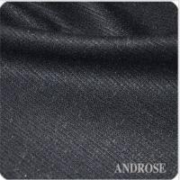 黑色条纹面料精纺羊毛面料羊混纺面料