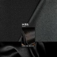 8号色真丝弹力缎 软垂微透纯色桑蚕丝 衣服面料